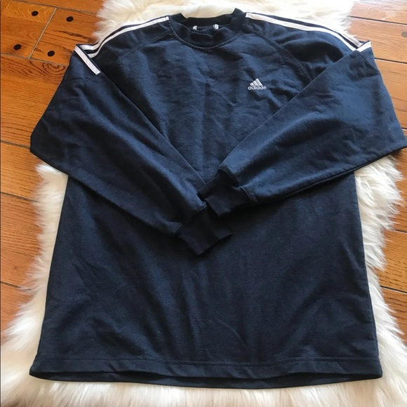 adidas Other - Men's Adidas Blue Sweatshirt